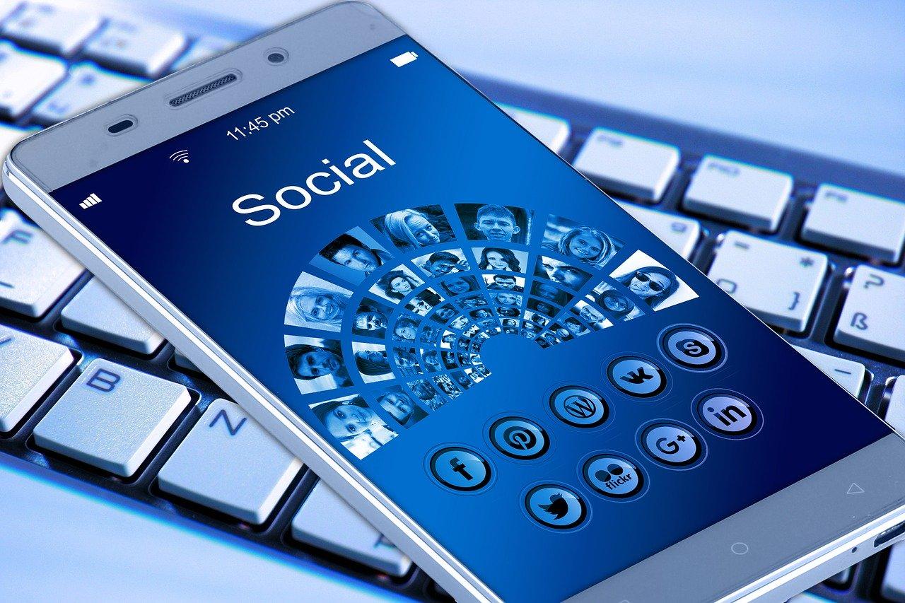 mobile phone, smartphone, keyboard